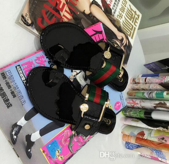 8506d660d226 GBrand Women Sandals Big Size 35-42 Designer Shoes Luxury Slide ...