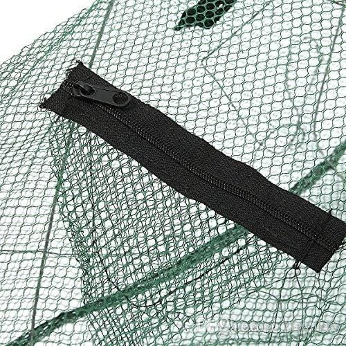 New Fishing Bait Trap Fish Net Cast Dip Cage Crab Minnow Crawdad Shrimp Foldable fishing net