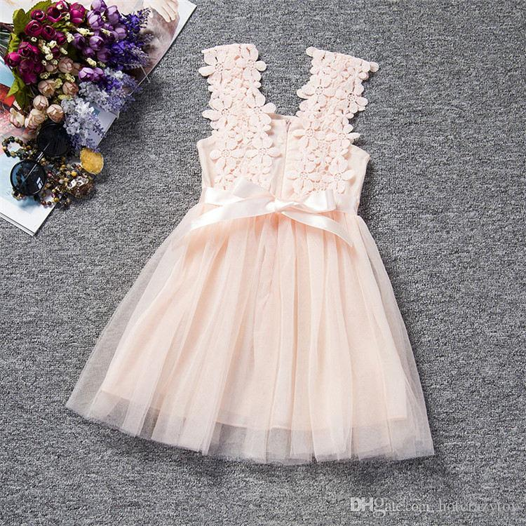 c55514891 2019 Flower Girl Baby Wedding Dress Newborn Toddler Baptism Clothes Baby  Girl 1 Year Birthday Tutu Dress Infant Party From Hotcrazytoy, $19.2 |  DHgate.Com