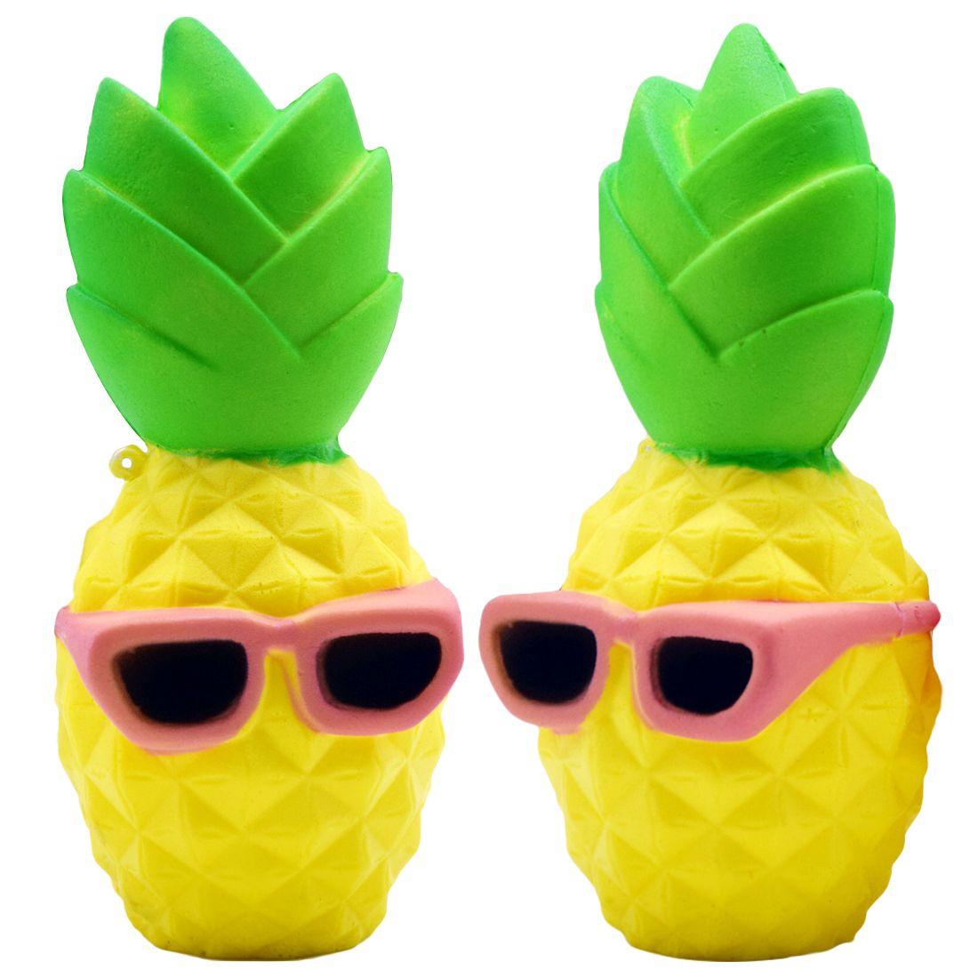 Acquista Hot 16 Cm Ananas Squishy Slow Rising Anti Stress Soft