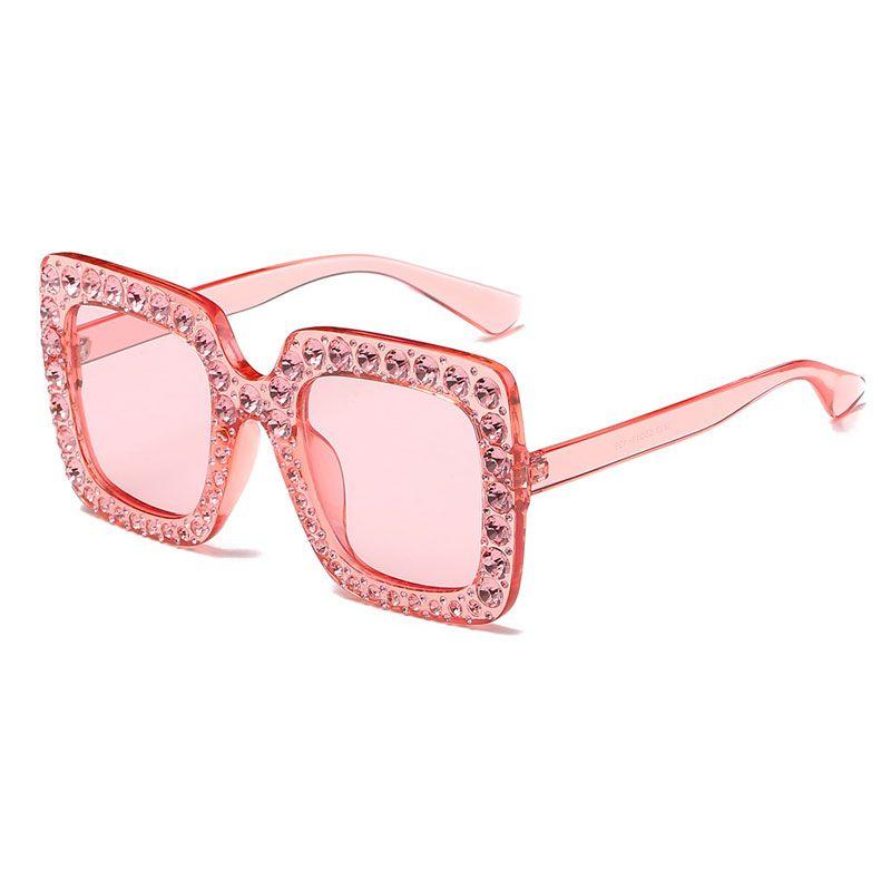 aa631036516 2018 New Arrival Luxury Square Sunglasses Women Brand Designer ...