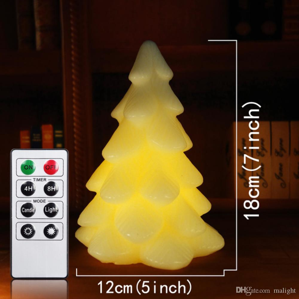 2018 factory direct christmas tree santa claus festival glowing candles colorful christmas tree candles electronic snowman scented bougie velas from malight