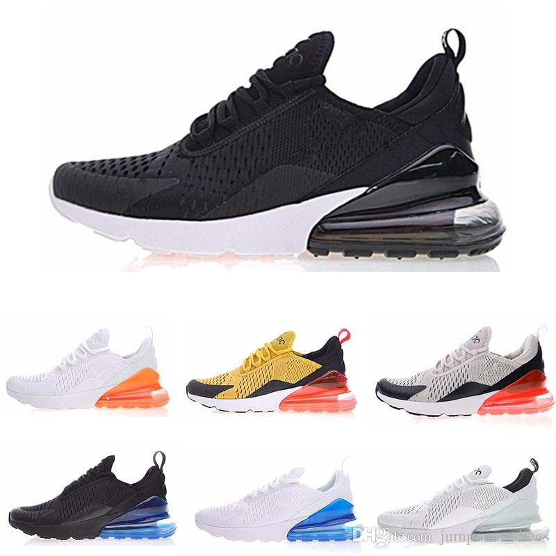 promo code 04c10 4568b 2018 Casual Shoes 270 Vapormax Black White Red Yellow Green 27C Cushion Men  Women Sports Running Sneakers Eur 36-45 Free shipping