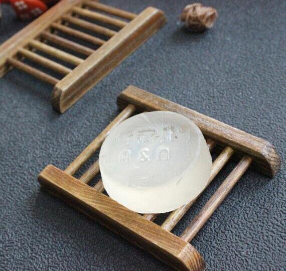 Estilo Vintage Bandeja de Jabón de Baño Caja de Platos de Madera Hecha A Mano Platos de Jabón de Madera Como Titular Accesorios para el Hogar Accesorios de Baño