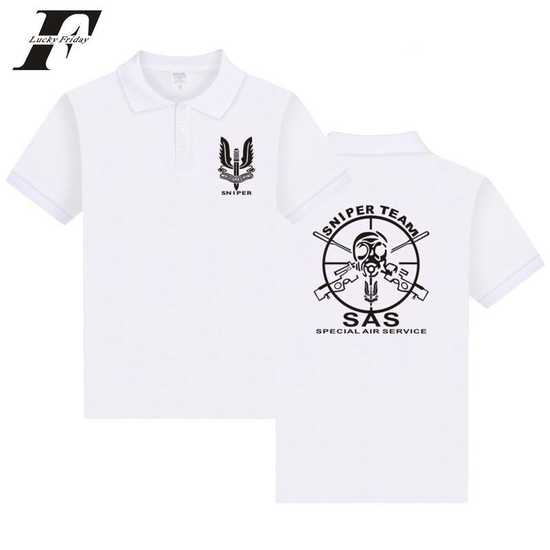 3a86172f Compre 2017 SNIPER TEAM SAS Camisa Hombre Camiseta ...