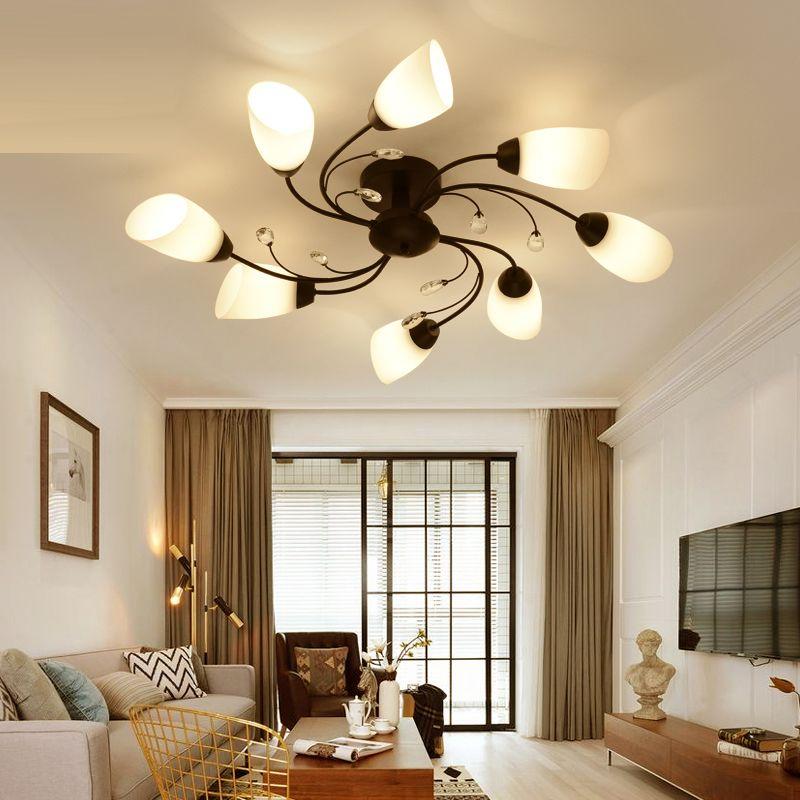 Großhandel Kreative Wohnzimmer Lampe Moderne Einfache LED ...