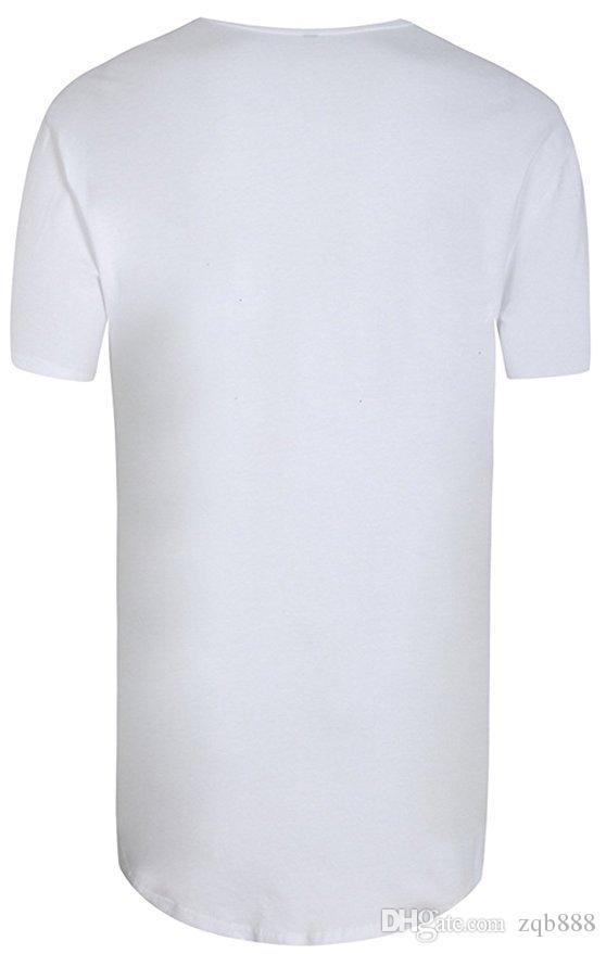 Loses und reines Farben-T-Shirt der neuen Männer 2018 Loch großer Code, Mn und Frauen des gleichen Stils