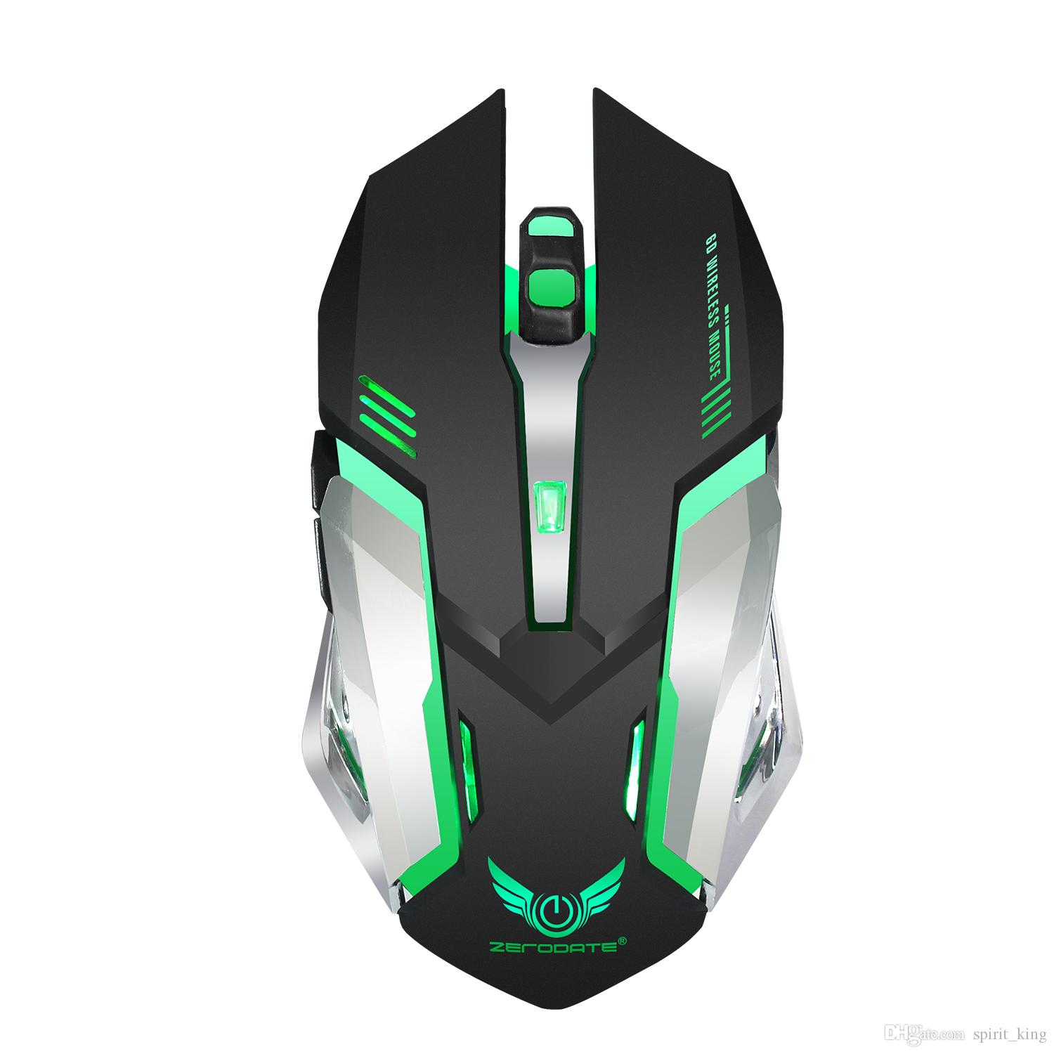 2019 Hot 2018 Professional Wireless Mouse Six Keys 2 4ghz Gaming