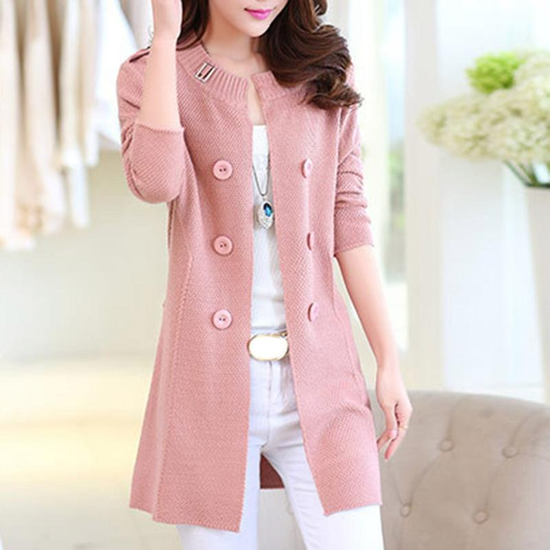 2018 New Fashion Autumn Spring Women Sweater Cardigans Casual Warm