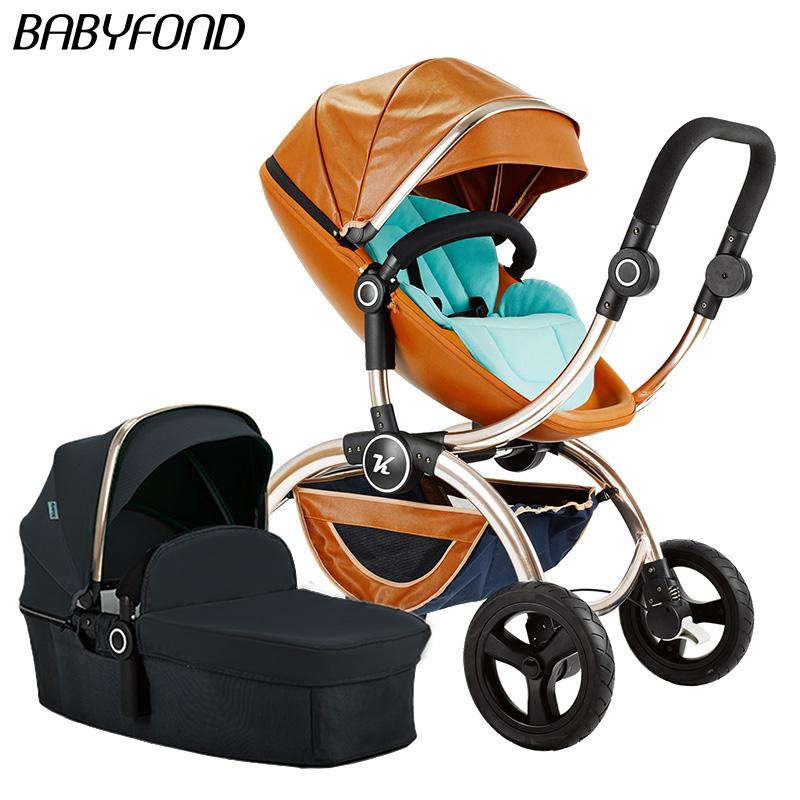 2019 2018 New Style Toke Baby Strolle 2 In 1 Car Folding Stroller Independent Sleeping Basket And Seat From Qwinner 65264