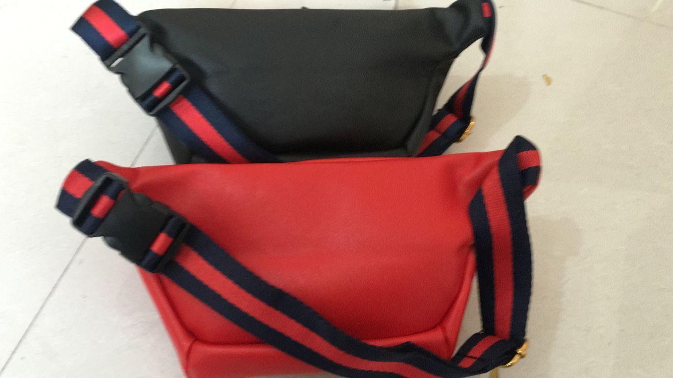 7661c195589 High quality women waist bag famous brand belt bag men fanny pack jpg  1334x750 Red belly