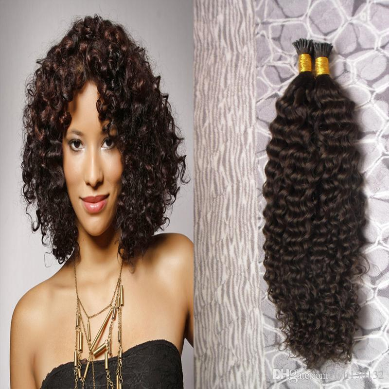 I Tip Hair Extension Keratine Pre Bonded Human On Capsule Real Hair