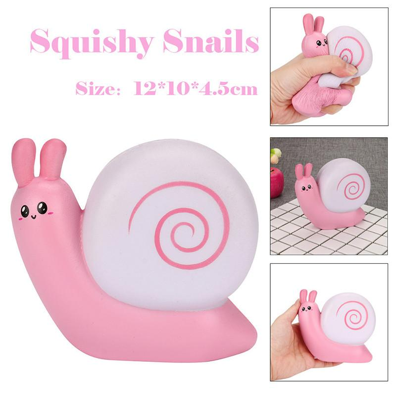 Squeeze Cute Snail Slow Rising Squeeze Cream Scented Decompression Toys Stress Relief Toys Kids Adult Toy Stress Reliever Decor Welding Helmets