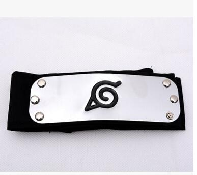 Fashionable Classic Unisex Naruto Forehead Guard Headband Cartoon Cosplay Accessories