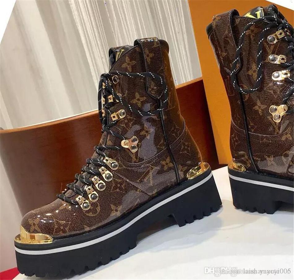 62677ce231839 2018 Best Designer Shoes Women Designer Boots Martin Desert Boot ...