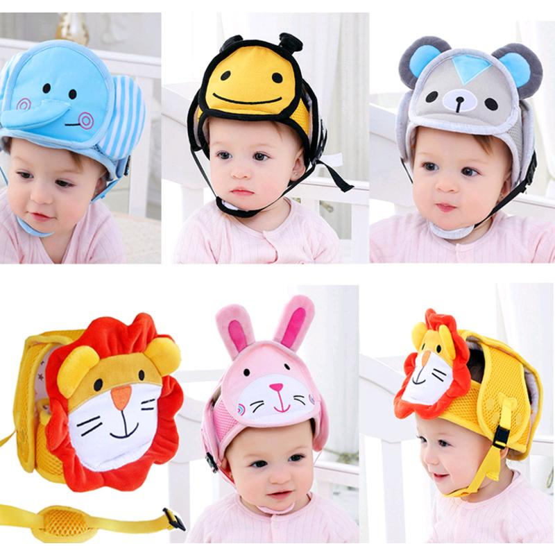 0168fb84b2f 2019 Children S Protective Helmets Headguard Baby Kids Walking Safety Head  Protector Hats Adjustable Cap For Toddler Boys Girls Hat From Bradle, ...