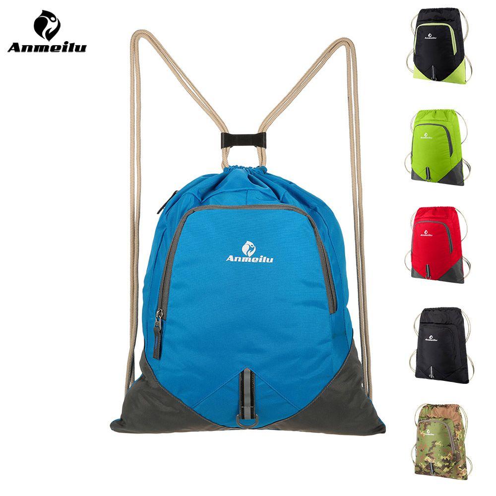 ANMEILU Travel Foldable Lightweight Backpack Women Men Waterproof  Drawstring Bolsa Large Capacity School Ultralight Cycling Bag Swiss Gear  Backpack Osprey ... 54fda39aeaf21