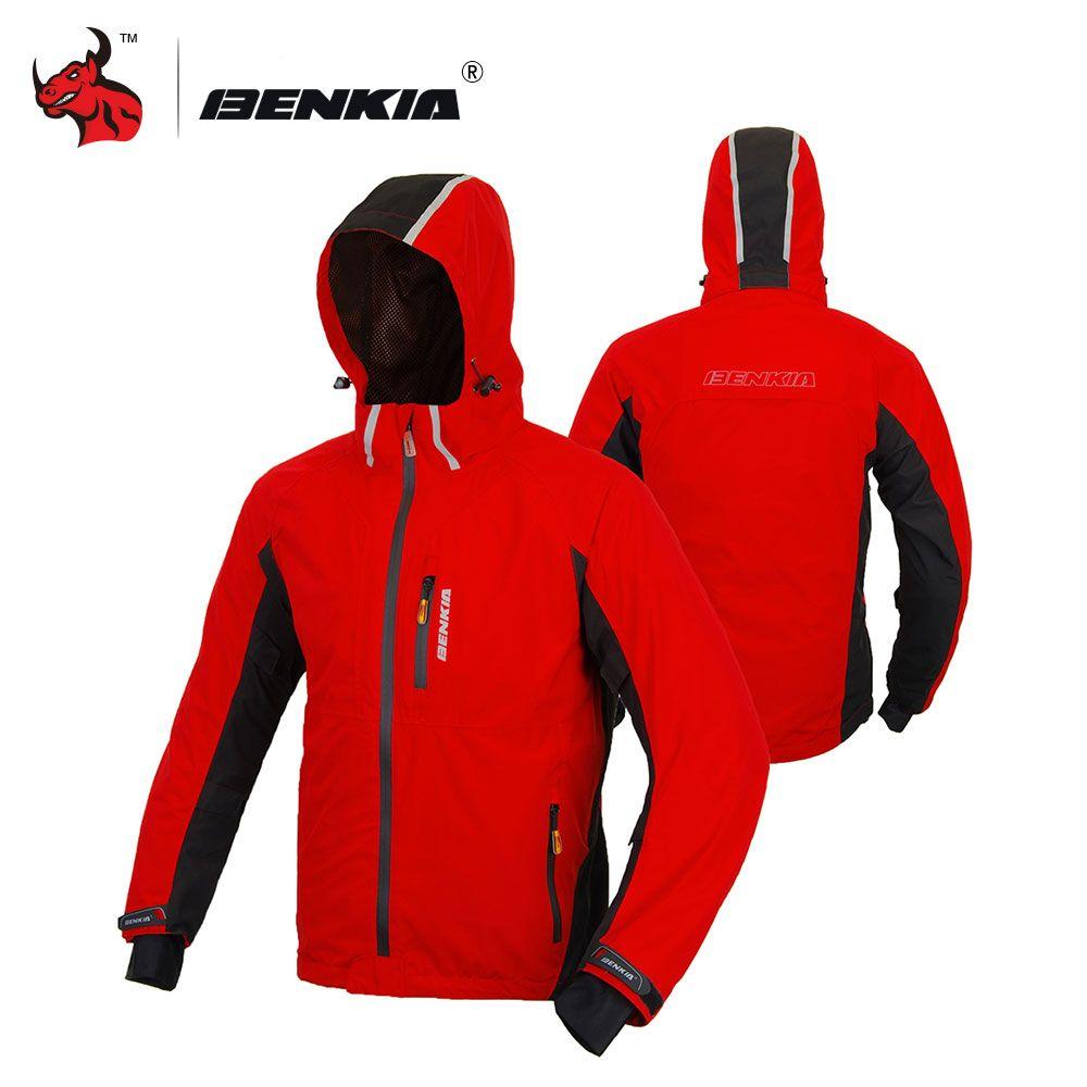 e96f75733f Compre Benkia Homens Jaqueta De Moto Blusão Com Capuz Removível Com ...