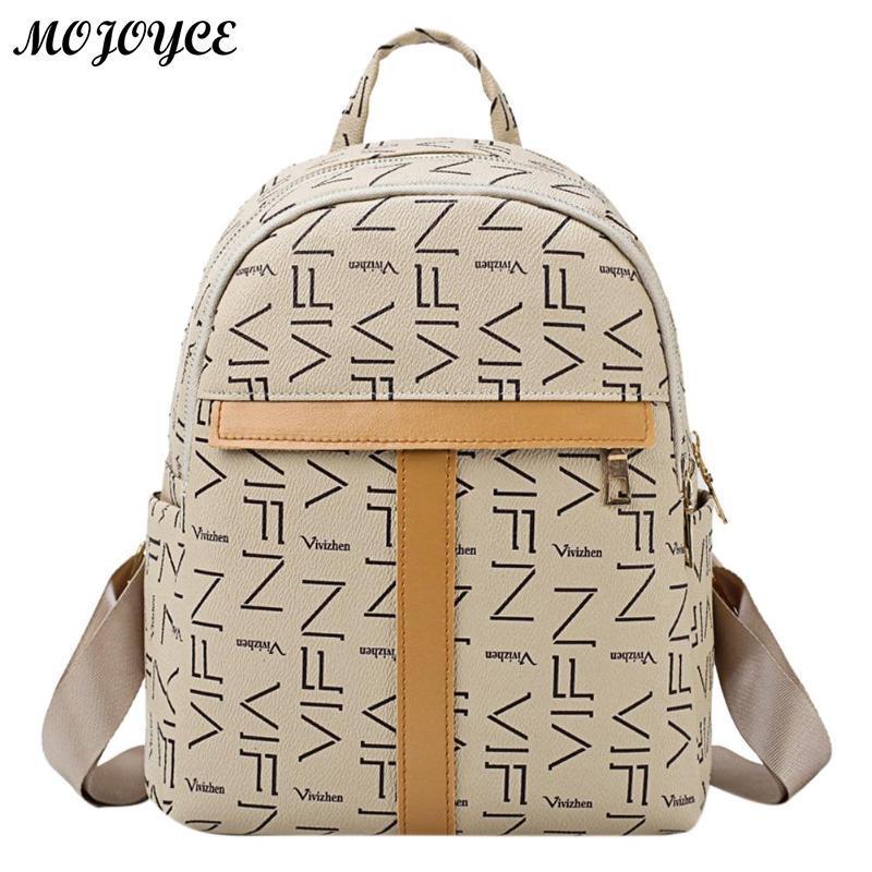 5e811a7b7e15 Fashion Women Backpack Youth PU Leather Backpacks For Teenager Girl Female  Mini Zipper Casual School Bag Ladies Feminine Personalized Backpacks Hunting  ...