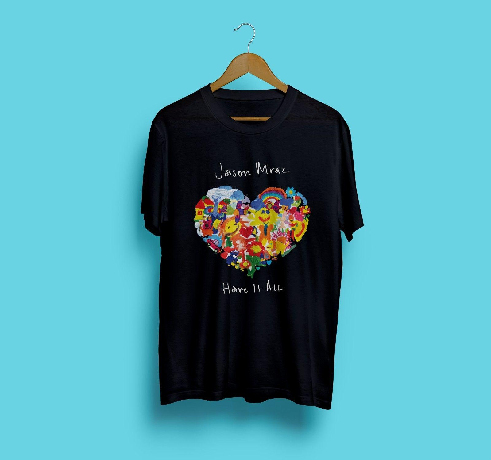 b5d528e8eae Jason Mraz Vibes Summer Tour 2018 T Shirt Black Size S 2XL 2018 Fashion T  Shirt 100% Cotton Tee Shirt Coolest Shirt Tees T Shirts From Funnyteeshirt