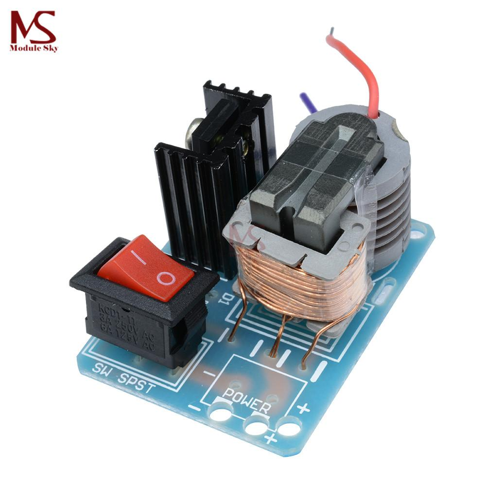 2018 15kv High Frequency Dc Voltage Arc Ignition Generator Transformer Wiring Diagram Inverter Boost Step Up 18650 Diy Kit U Core Suite 37v From Yutong20161024