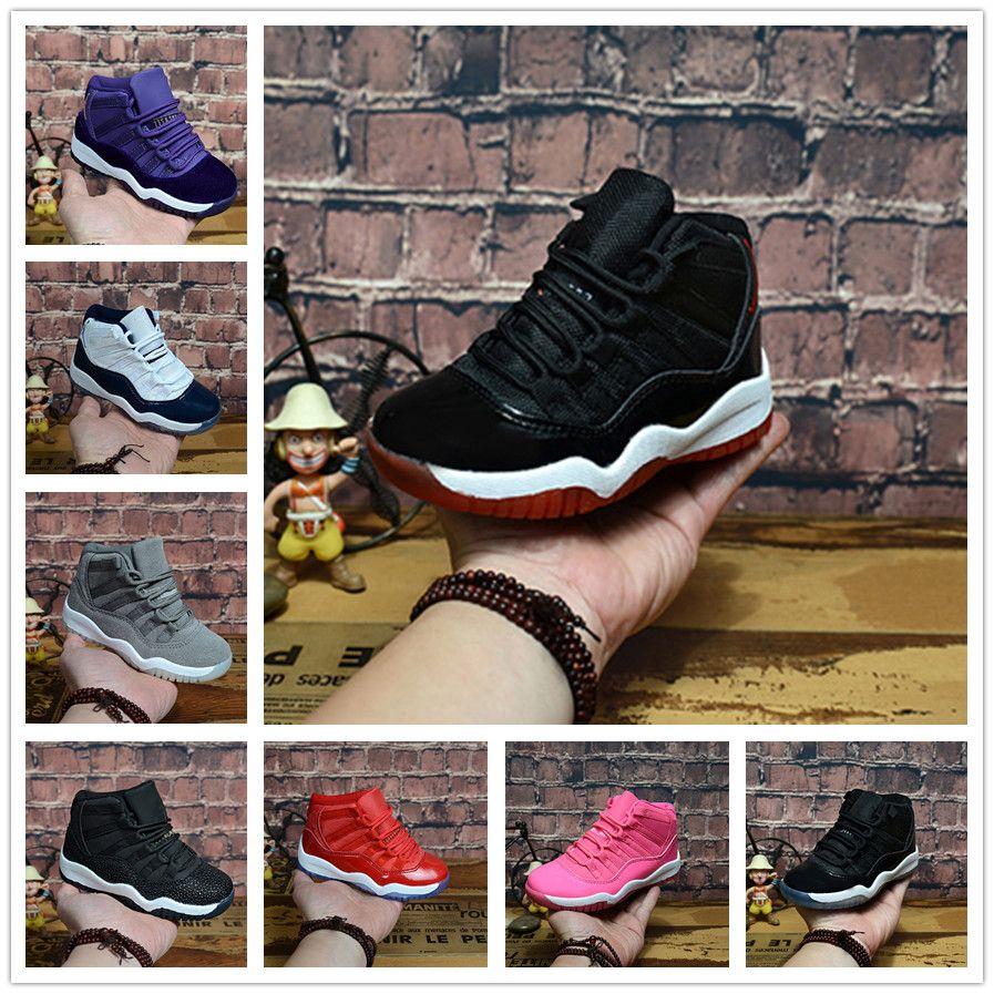 Acheter Nike Air Jordan Aj11 Date Cap Et Gown Grands Enfants 11 Prom