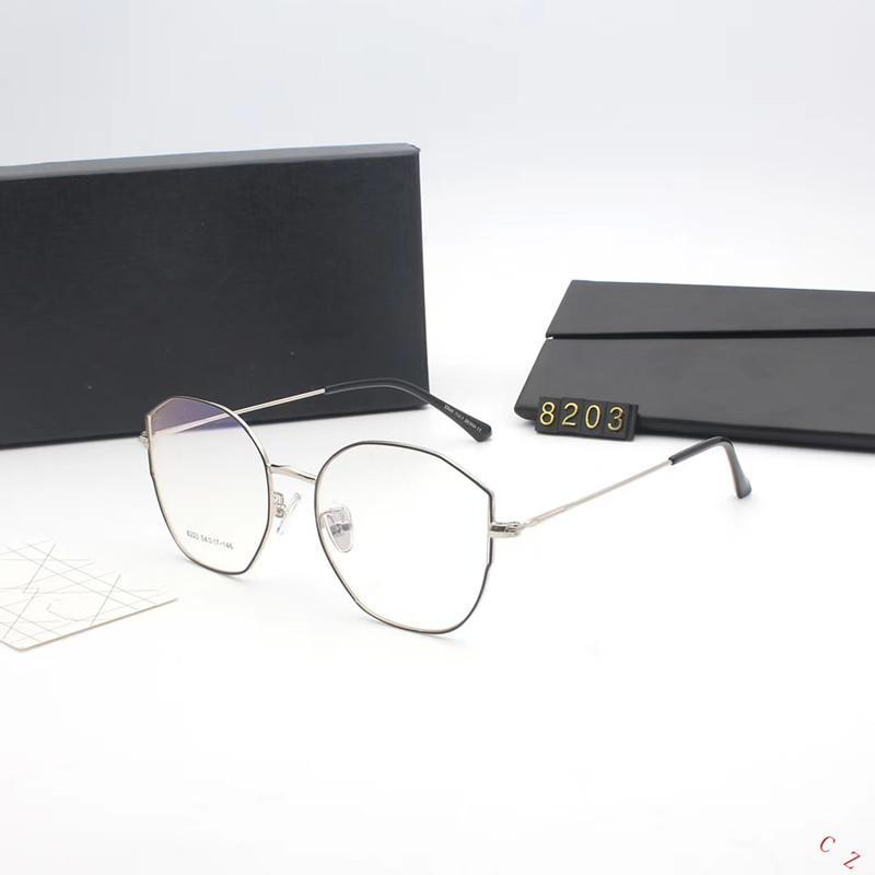 6559ede7c69 2018 New Brand Vintage Square Glasses Frame Female Brand Designer Spectacle  Plain Glasses Gafas Eyeglasses Frame 8203 Glasses Frame Eyeglasses Online  with ...