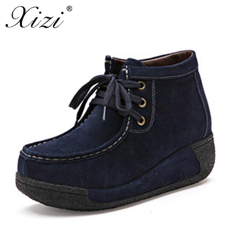 Xizi Women Suede Ankle Boots Women Winter Super Warm Snow Boots for Female Winter Shoes Botas Mujer Plush Booties Shoes Woman