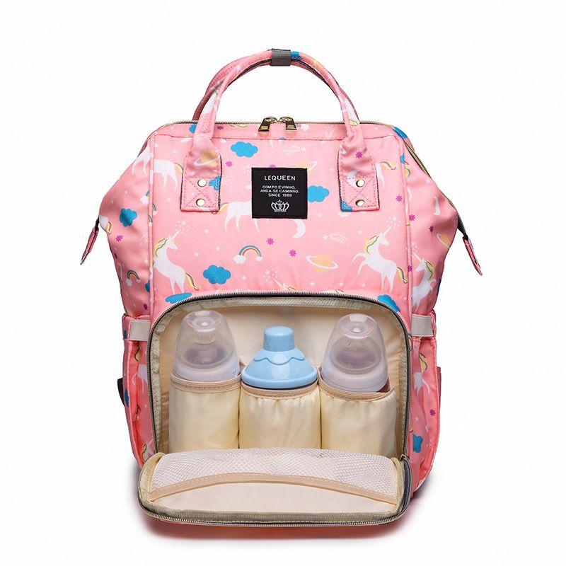 es unicornio mamá mochilas pañales bolsas para mamá mochila pañal unicornio bolsa de maternidad bebé bolsas de viaje