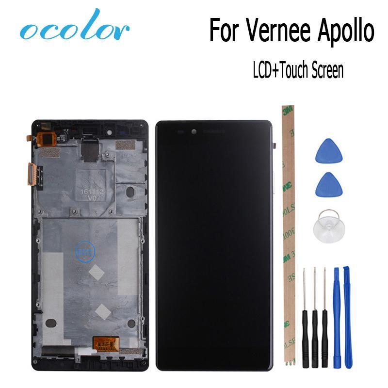 Pantallas Celulares Ocolor 5.5 Pulgadas Para Vernee Apollo Pantalla ...