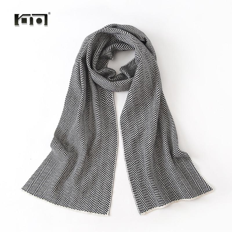 New Men Scarves Cotton Neck Scarf Knitted Fashion Winter Unisex ...