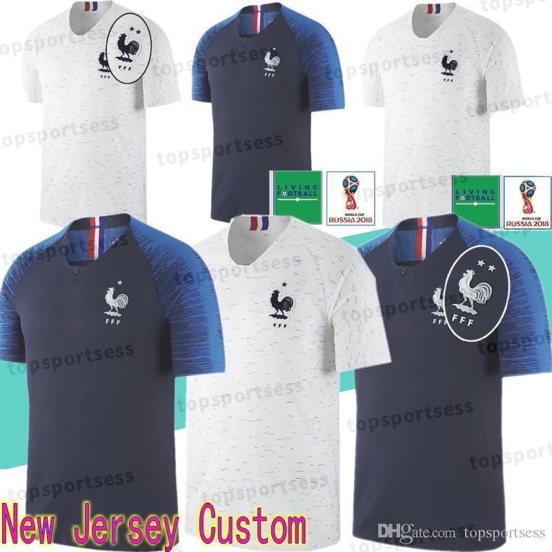 6 Pogba Jersey 7 Griezmann 10 Mbappe 8 Lemar 20 Martial 13 Kante 9 ... 8a915c0b3