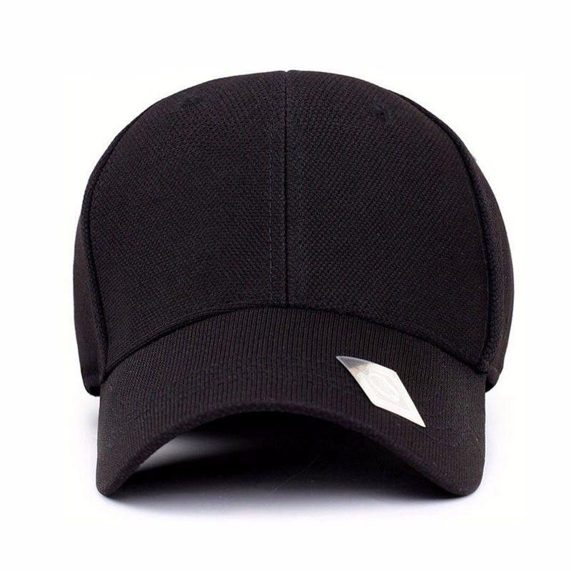 4a303480f Spandex Flexfit Fitted Casual Full Closed Sport Snapback Baseball Cap Men  Casquette Polo Hat 55-60cm