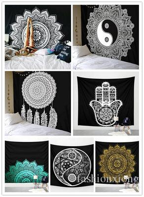 Home Textile Retro Indian Women Polyester Beach Tapestry Wall Hanging Home Bath Towel Blanket Table Cloth Mat Sofa Pad