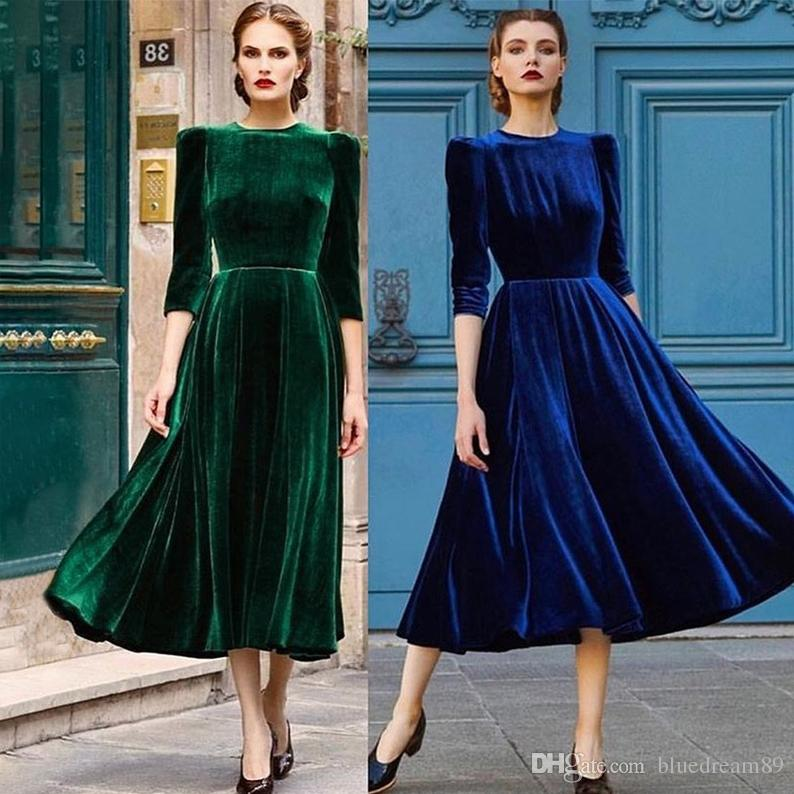 Retro Women Clothes Spring Dresses Gold Velvet Clothing Big Pendulum
