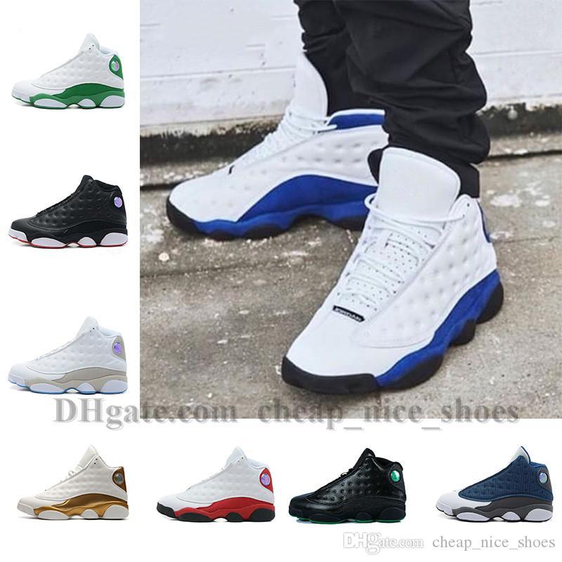 b59f79185a5dd9 2018 Men Basketball Shoes 13 Bred Black True Red History Of Flight ...