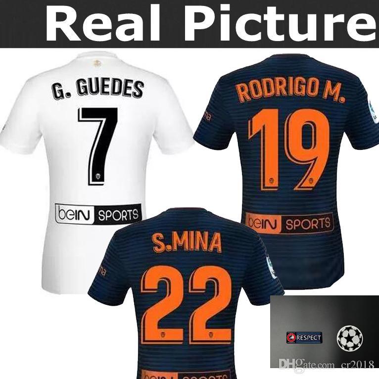 Maillot Domicile Valencia CF S. Mina