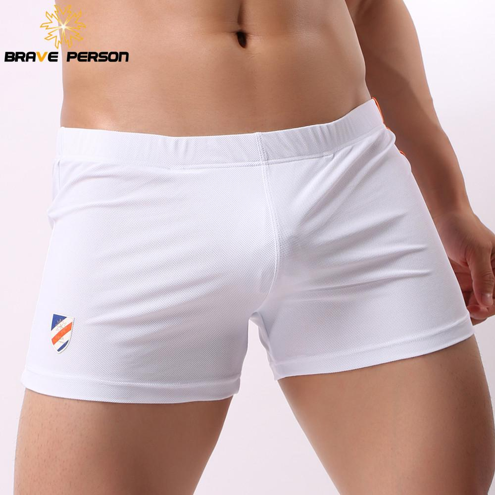 3963d6a689e1 2019 Brand Underwear Men Boxers Shorts Mesh Breathable Fabric Low Waist  Sexy Mens Underwear Boxers Penis Pouch Casual Shorts 2018 New From  Xiatian4, ...