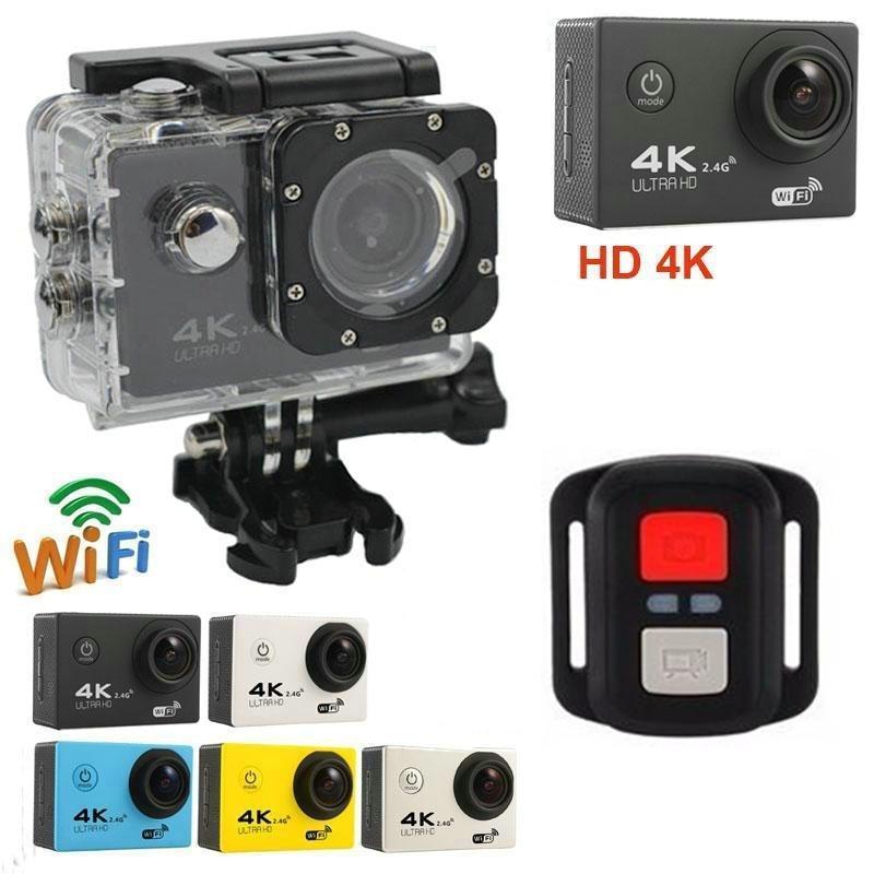 Sport & Action-videokameras F60r 4 K Wifi Action Kamera 1080 P Hd 16mp Helm Cam 30 M Wasserdichte 170 Grad Weitwinkel Objektiv Dv Mit Fernbedienung Preisnachlass