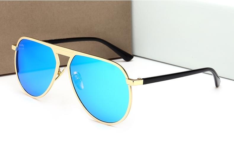 5b3912af26 New Fashion Retro Sunglasses Brand Designer UV Protection Sunglass Flat  Lens Shades Sun Glasses For Men Women Unisex Luxury Metal Sunglass Cheap  Eyeglasses ...