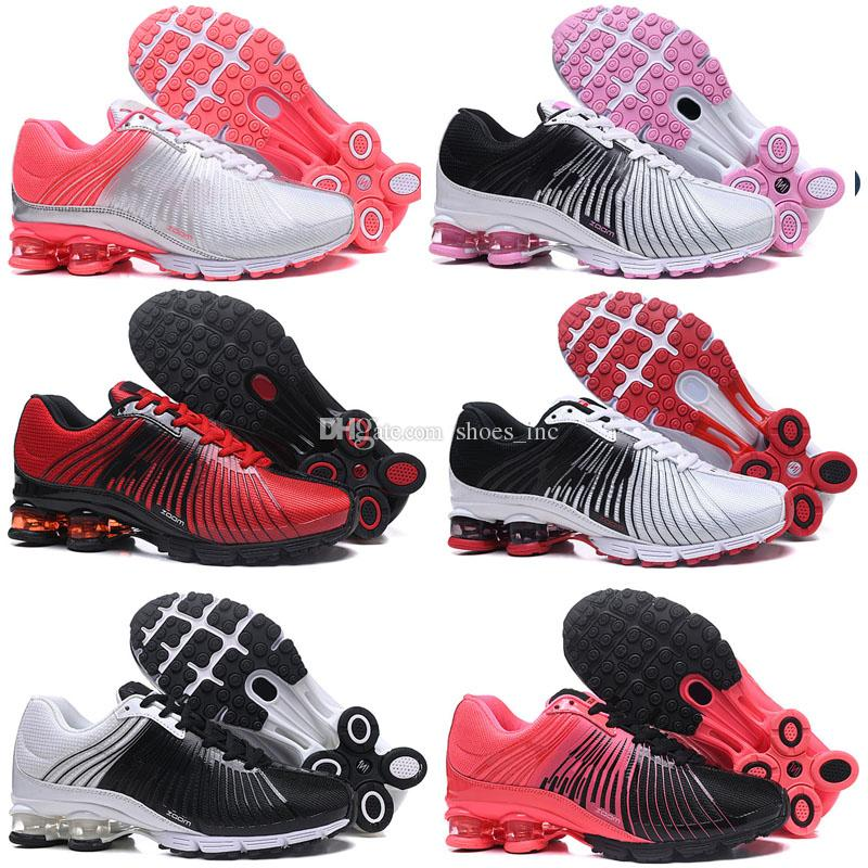 pretty nice f795c 08e63 Acheter 2018 NOUVEAU Air Shox Deliver 625 Hommes Femmes Chaussures De  Course Pas Cher Chaussures Homme Shox OZ NZ Avenue Athletic Trainer  Sneakers Sports De ...