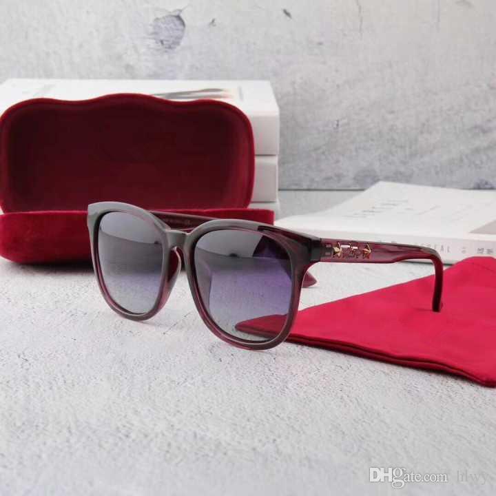 0232 beliebte sonnenbrille luxus frauen markendesigner 0232sk oval sommer stil vollformat top qualität uv schutz mischfarbe kommen mit box