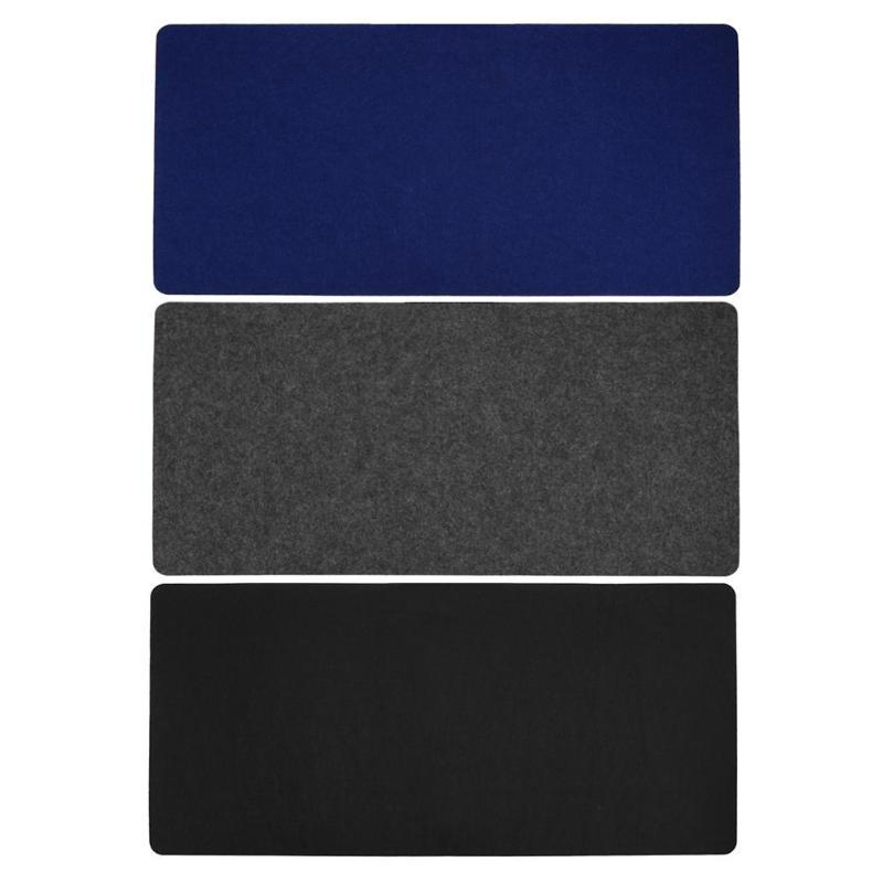 Simple Design Office Computer Desk Mat Modern Table Mouse Pad Wool Felt Laptop Cushion Useful Gadget Keyboard Rests Wrist Pads From