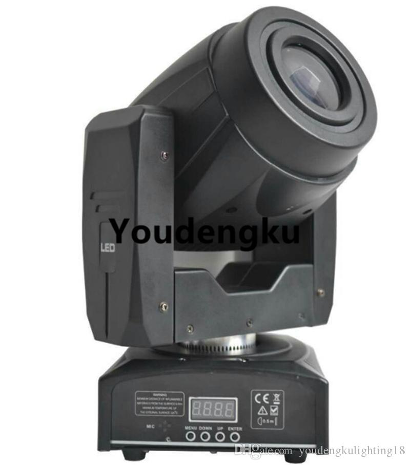 6 pieces 3 Facet Prism Rotating Gobo 60 watt Mini Spot 60w LED Moving Head for stage party