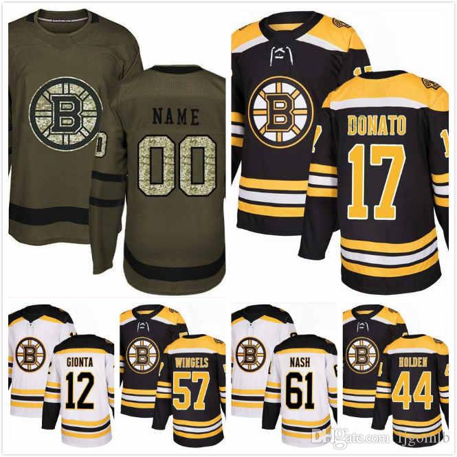 cec30c10f ... discount code for 2018 ryan donato jersey 17 brian gionta jersey 12  tommy wingels 57 nick