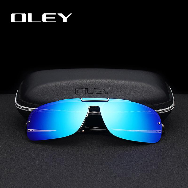 ba110c9a790 Wholesale Brand Frameless Polarized Sunglasses Men HD Siamese Fashion Lenses  Women Sun Glasses Summer Anti Glare UV400 Goggles UK 2019 From  Luzhenbao522