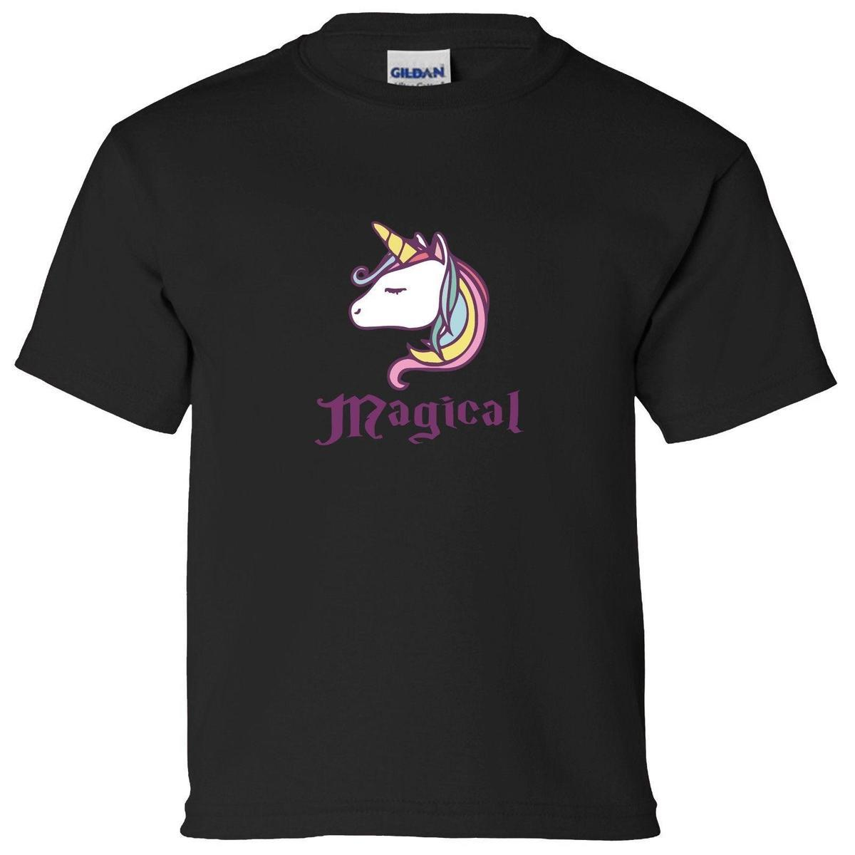 c5b9922ad MAGICAL UNICORN DESIGN BOYS GIRLS T SHIRT LEGEND MYTH UNICORNS MAGIC CUTE  KIDS Business Tee Shirts Printing Coolest T Shirts Online From Linnan02, ...
