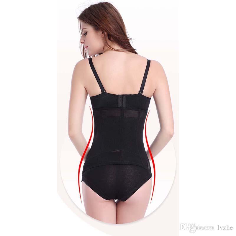 2018 جديد مثير إمرأة السيدات الخصر المدرب postpartum girdles cinchers مشد حزام التخسيس التصحيحي 3 ألوان 7 الحجم