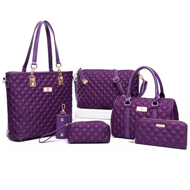 Women Bag Set Top-Handle Bags Brand 2018 Women Messenger Bag Purses ... bb2dc9032b8b6