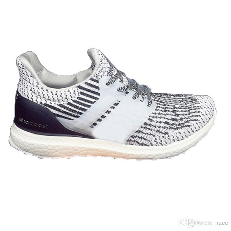 8b31fede3c19e 2019 2018 Ultra Boost 4.0 3.0 Men Women Core Triple Black White Primeknit  Runner Fashion Running Sneaker Sports Shoes Eur 36 47 From Nacc